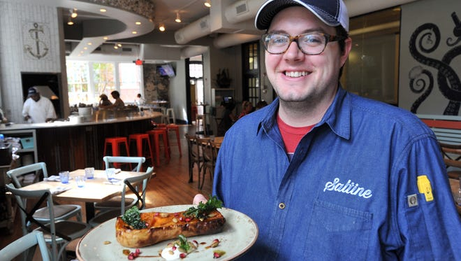 Saltine, operated by chef/owner Jesse Houston, has been named one of Southern Living's best new restaurants for 2016.