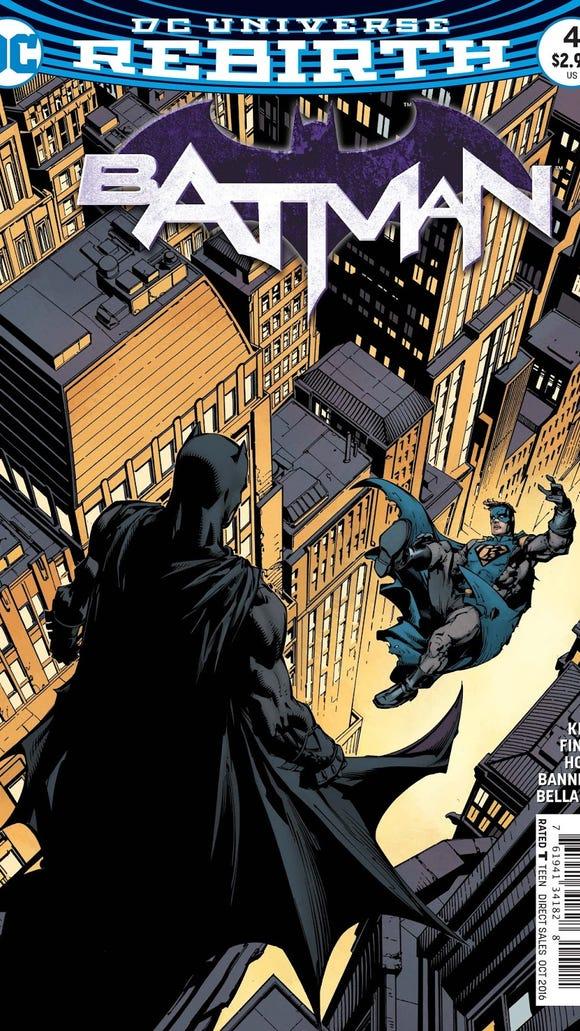 """Cover of Batman """"I Am Gotham"""" Part 4"""