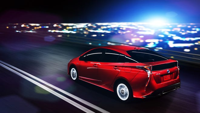 Toyota is unveiling the next Prius, which gets a 10% boost in gas mileage