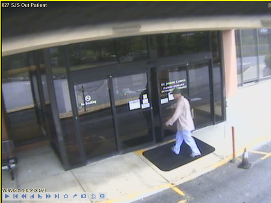 The N.C. State Bureau of Investigation is searching for a suspect linked to hospital thefts.