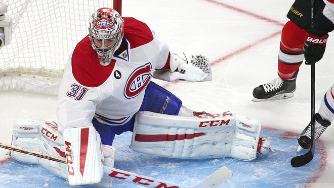 Montreal Canadiens goalie Carey Price is a finalist for the Vezina Trophy.