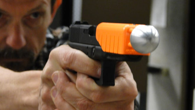 'The Alternative' is a non-lethal device being tested by police.