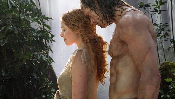 Margot Robbie and Alexander Skarsgard star in 'The