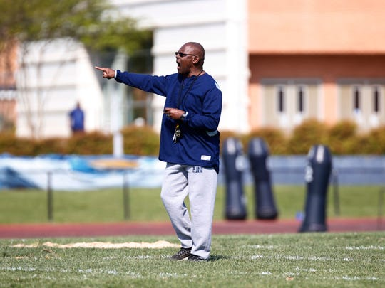 JSU coach Tony Hughes is trying to restore the Tigers' winning tradition.
