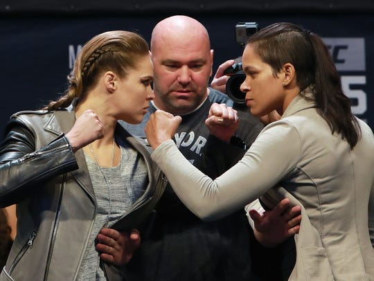 Ronda Rousey is set to fight women's bantamweight champion