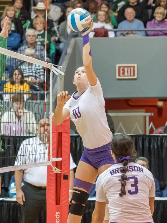 Bronson Volleyball Wins State 5