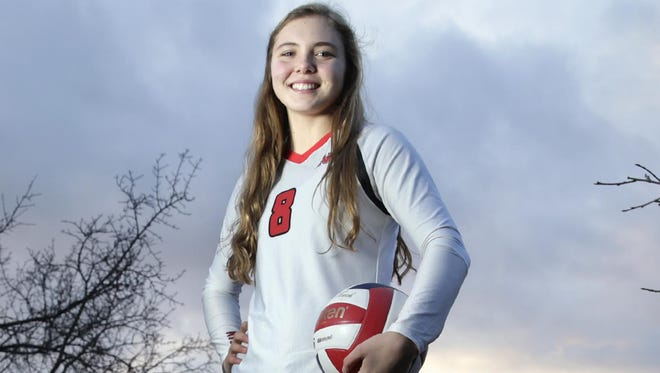 Hope Werch, a junior at Neenah High School, is the Post-Crescent Media girls' volleyball athlete of the year.