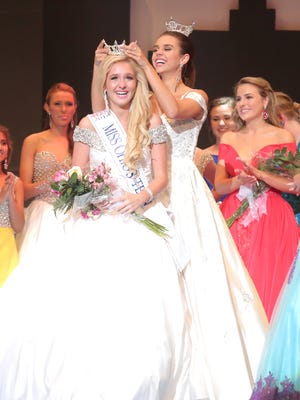 Lexington's Juliana Heichel was crowned last June as Miss Ohio's Outstanding Teen at the Renaissance Theatre.