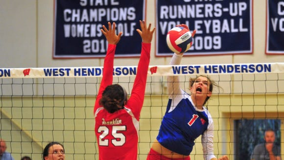 West Henderson's Mary Catherine Ball (1).