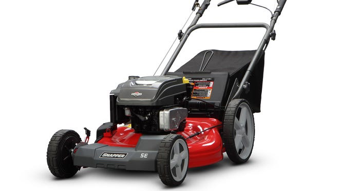 Snapper push lawn mowers start at $279.