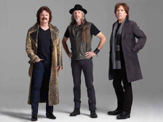 The Doobie Brothers will perform at the Grandstand Concert Series Aug. 26 at the Dutchess County Fair. From left to right, are Tom Johnston, Patrick Simmons and John McFee.