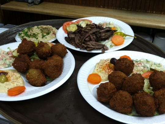 Platters from Pita House.