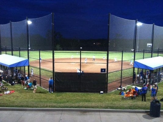 Mason Sports Park Night Photo