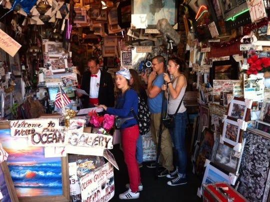 """Russian film """"Turbo"""" is shot inside """"Ocean Gallery"""" on the Ocean City Boardwalk."""