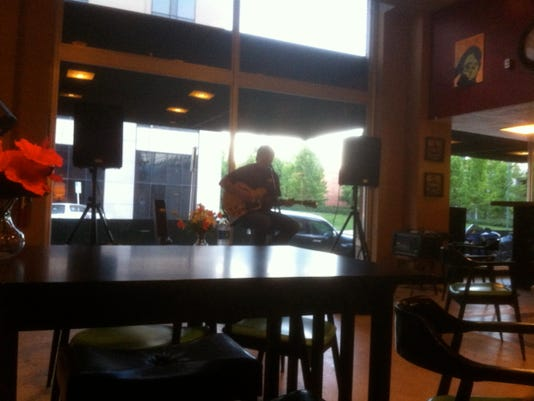 Cody Magana at the 8th Street Coffee House