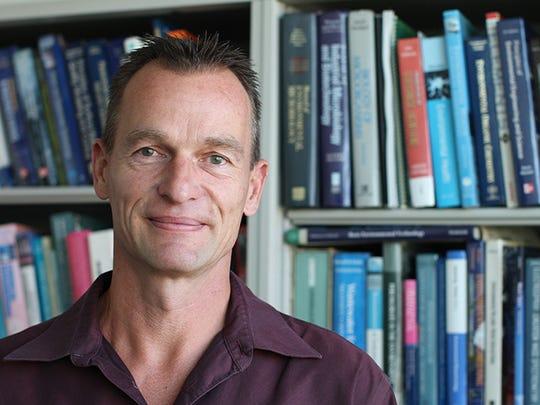 Rolf Halden, director for the Center of Environmental