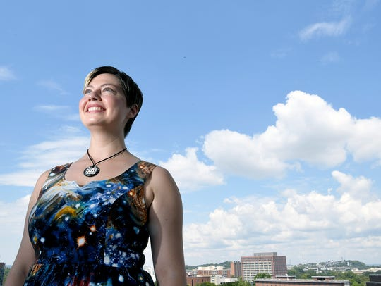 Vanderbilt astrophysicist Natalie Hinkel studies the