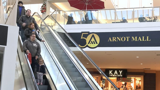 The Arnot Mall in Big Flats recently celebrated its 50th anniversary.
