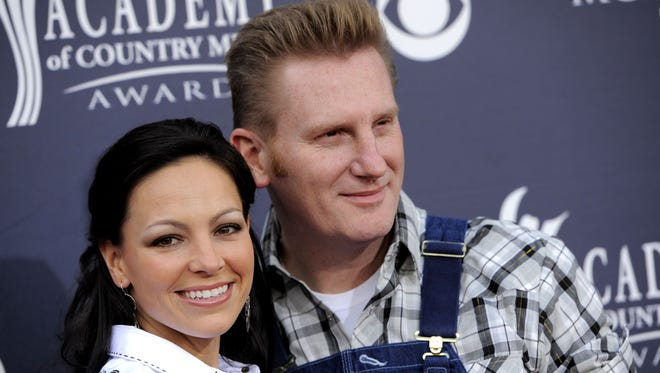 Joey + Rory are a Vocal Duo of the Year nominee for the 51st annual Academy of Country Music Awards.