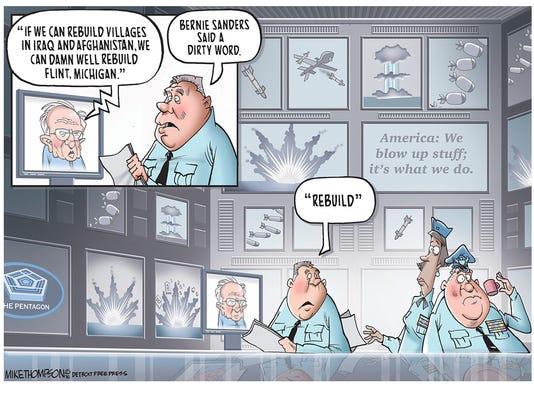Bernie Sanders has a potty mouth!