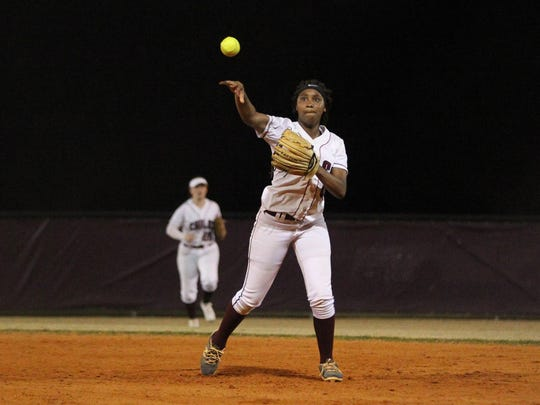 Chiles freshman Amaya Gainer fields a ball at second base during a recent game.