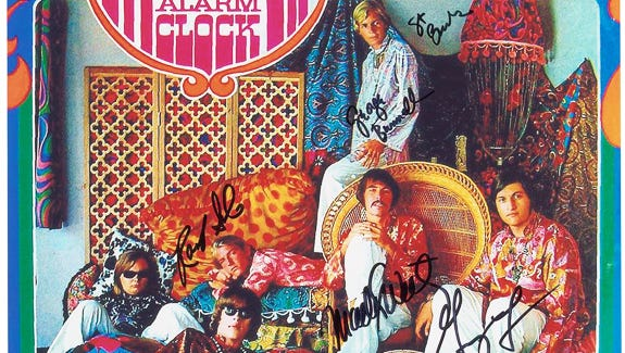 Strawberry Alarm Clock will play May 24 at Bogie's in Agoura Hills. Shown here is their first album cover.