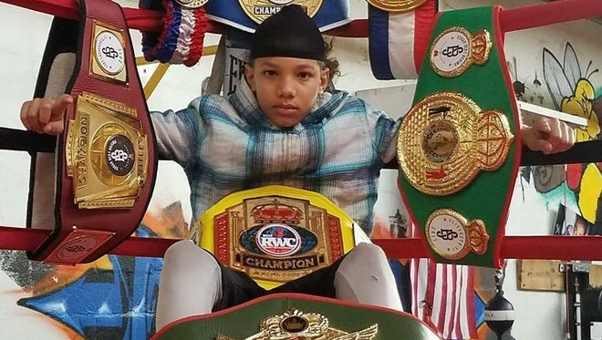 Antwoine Dorm Jr. has added another championship belt to his growing collection. FILE PHOTO