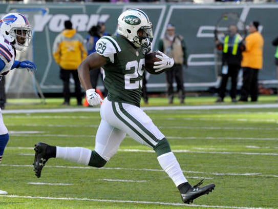 New York's Bilal Powell became the latest running back