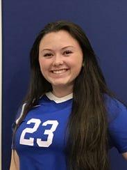 Ally Staton, Centerville volleyball