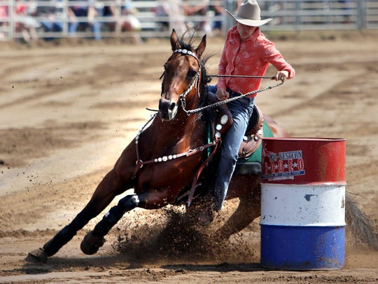Cowboys and cowgirls saddle up for the Manawa Mid-Western Rodeo through Saturday.