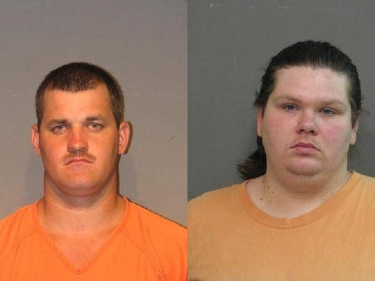 Jeremy Wade Graves (left) and Tiffany Dianne Jackson