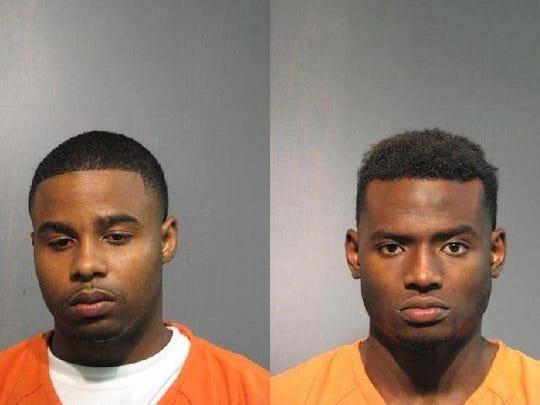 Vernon Robinson (left) and Frank Bailey Jr.