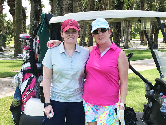 Taryn Thimmer and Allison Walsh at Treasure Coast Community