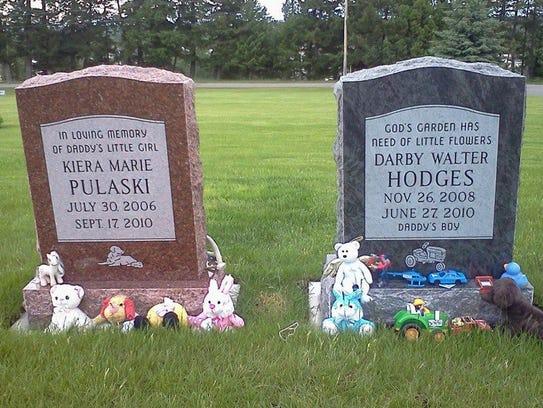 children's gravestones