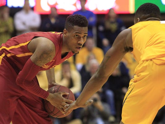 NCAA Basketball: Iowa State at West Virginia