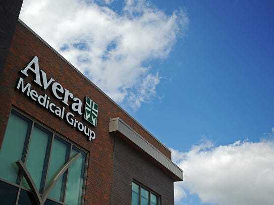 The Avera McKennan Clinic on Cliff Avenue south of