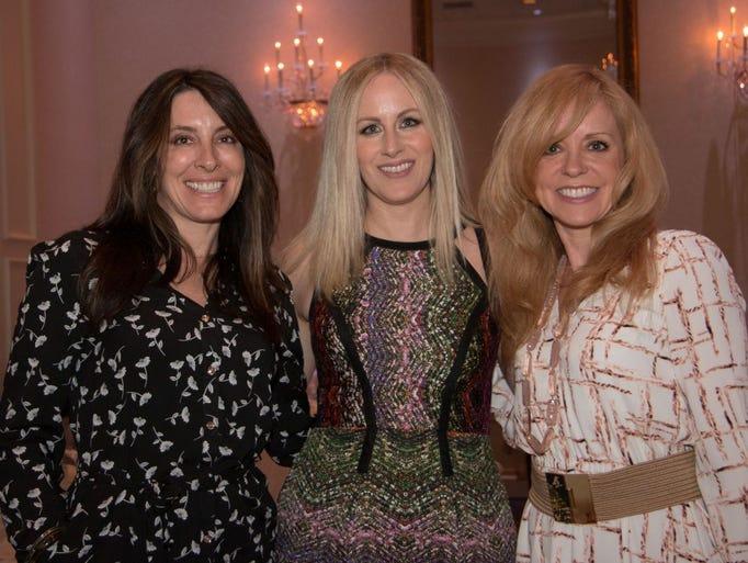 Kristin Collette, Jeannine Gavlick, Cheryl McNammara.