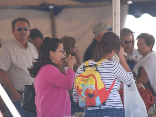 The popular Chincoteague Chili and Chowder Cook Off