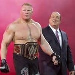 """Brock Lesnar faces The Undertaker in the main event for Sunday's WWE """"SummerSlam"""" pay-per-view event."""