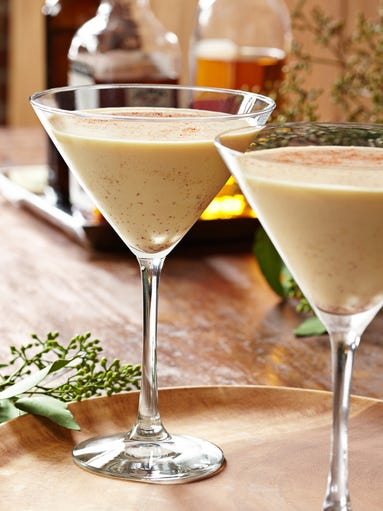 ... Coconut Rum and homemade coconut eggnog. (Photo: Tommy Bahama