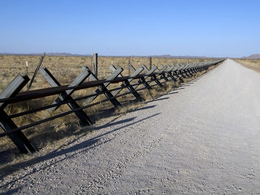 New Mexico Border Fence