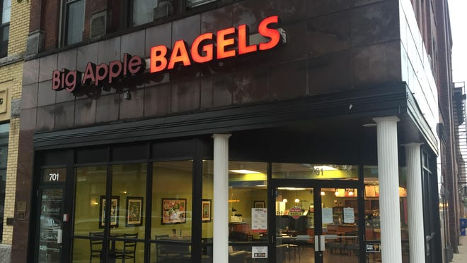 The new Big Apple Bagels location in downtown St. Cloud is scheduled to open on Oct. 5.