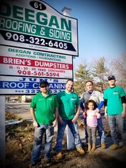 Deegan Roofing Co. is helping a family in need by helping put a roof on their Scotch Plains home.