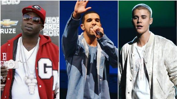 Drake premieres Gucci Mane, Justin Bieber songs