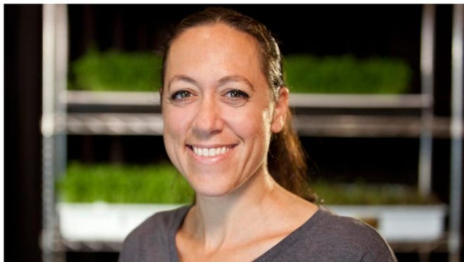 Rachel Shemenski is the co-founder of Florida Microgreens in Cape Coral.