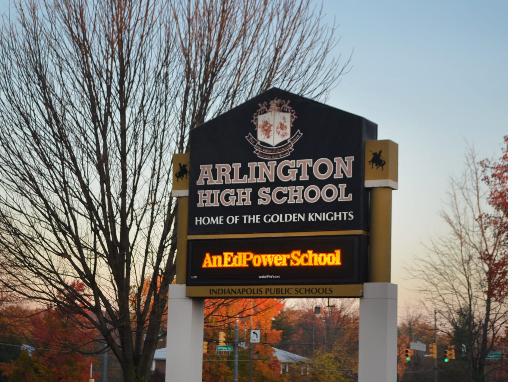 Arlington High School.