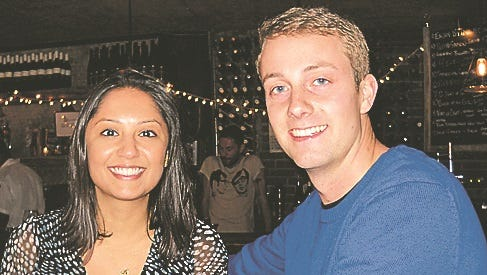 Vidhi Shah and Joel Johnson