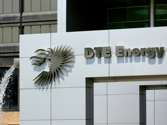 DTE Energy in downtown Detroit.