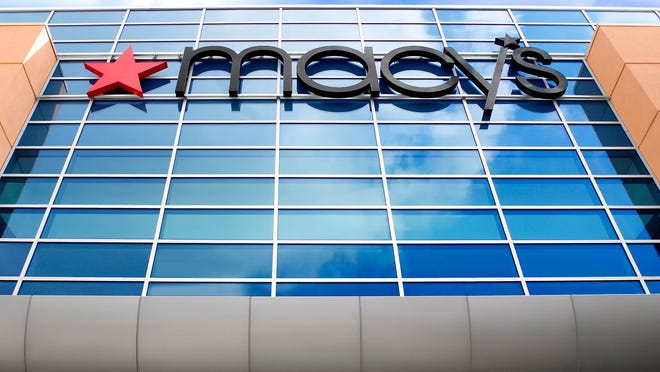 Macy's on Tuesday reported a first quarter profit of $136 million, or 44 cents per share, which far exceeded Wall Street's expectations.