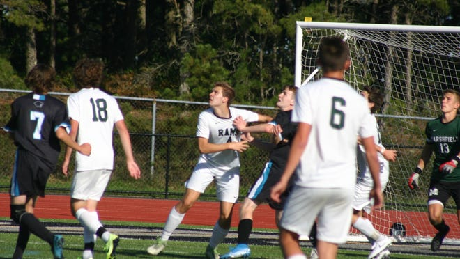 This kind of contact won't be seen in high school soccer games this fall.